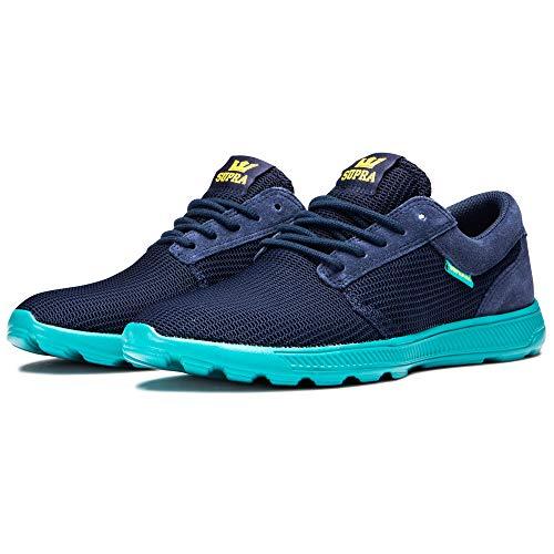 Supra Unisex-Erwachsene Hammer Run Sneaker, Blau (Navy-Teal-M 489), 43 EU