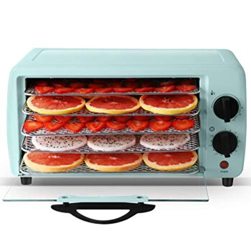 Pojrhfy Küche Ofen-Nahrungsmittelbackmaschine-Trockenfrüchte-Maschinen-Haushaltsnahrungfleisch-Frucht-Kräuter-Dehydratisierungs-Trockner-justierbare Temperatur-Zeiteinstellung Küchenöfen
