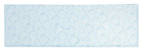 Esprit Home Liv Tischläufer, Stoff, hellblau, 140 x 45 cm