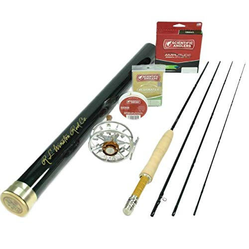 Winston Pure 490 Fly Rod Outfit : 4wt 9'0'