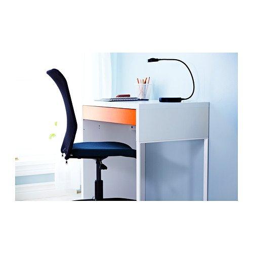 IKEA SUNNAN LED table lamp, black