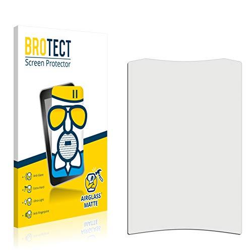 BROTECT AirGlass Matte Premium Glasfolie für Crivit Fahrradcomputer (extrahart, ultradünn, matt und entspiegelnd, Anti-Fingerprint, flexibel)