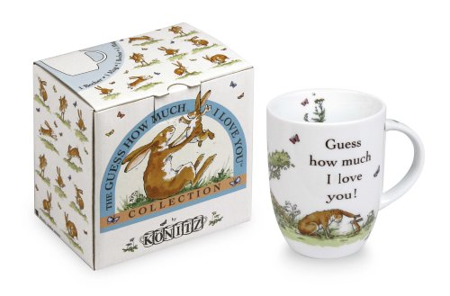Konitz Guess How Much I Love You 12-Ounce Mug, Gift Boxed