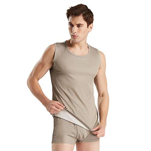 KOIJWWF 100% Silberfaser Herrenbekleidung Strahlenschutz T-Shirt, EIN Strahlenschutzanzug für Männer EMF Shielding,3XL
