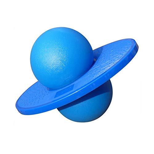ZPFQFC Bouncing Platform Ball, Pogo Ball für Balance Energetic Training Jumping Bounce Yoga Space Fitness Ball Indoor Outdoor