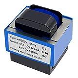 Transformador de horno de microondas WuYan AC 220 V a 11 V/7 V 140 mA/180 mA 7 pines Horno de...