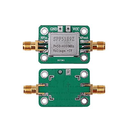 ZRYYD SPF5189 Amplificador de 0.6dB Receptor de señal LNA 50-4000 MHz RF Módulo de Tablero de Amplificador de bajo Nivel de Ruido para FM HF VHF/UHF Ham Radio Caliente