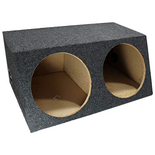 american sound connection car subwoofers American Sound Connection H212 2 x 12-Inch Deep Angle Round Sub Box (Dual)