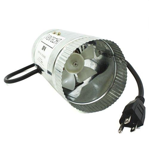 "VenTech DF4 4"" Duct Fan 65 CFM"