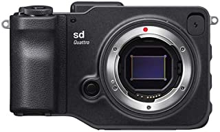 Sigma SD Quattro Compact Camera Body, Black