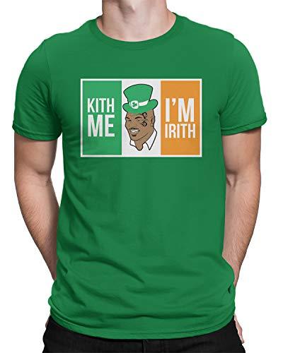 Retta Kith Me I'm Irith Mike Tyson - Camiseta para hombre - verde - Medium
