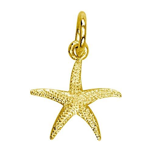 SZIRO Mini Common Starfish Charm in 14K Yellow Gold