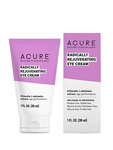 ACURE Radically Rejuvenating Eye Cream | 100% Vegan | Provides Anti-Aging Support | Chlorella &...