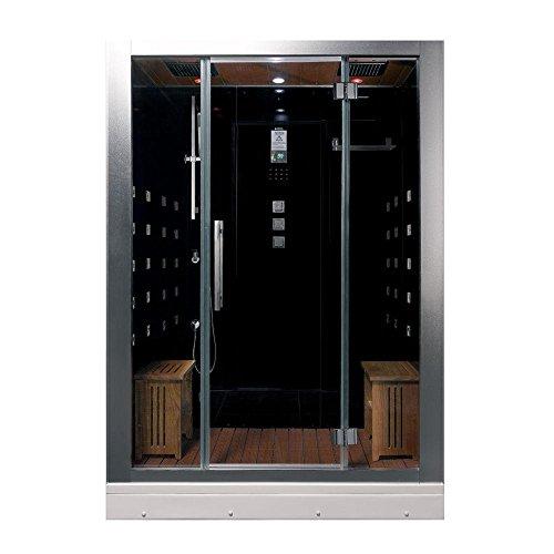 ARIEL Platinum DZ972-1F8-BLK Steam Shower