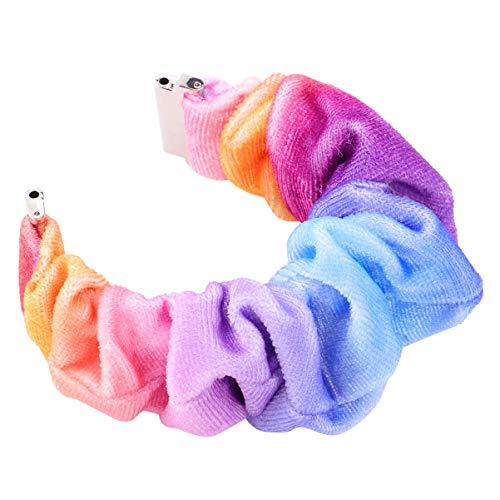 Hemobllo Horlogebandjes, zachte sportarmband, reservebanden, stoffen armband, elastische haarelastieken voor verjaardagscadeau 22 mm (stijl 54)
