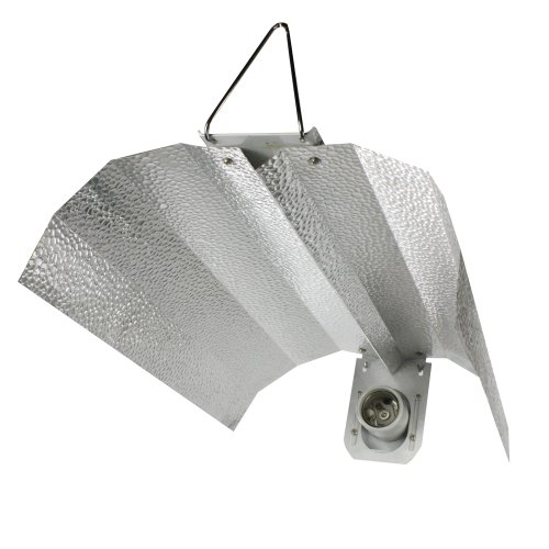 """Apollo Horticulture GLRGW19 19"""" Gull Wing Hydroponic Grow Light Reflector"""