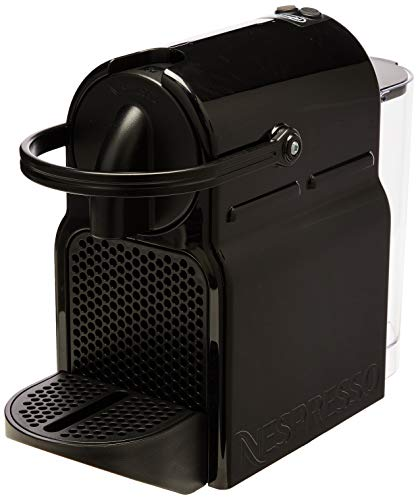 De'Longhi Nespresso Inissia EN 80.B, Hochdruckpumpe, Energiesparfunktion, kompaktes Design, Schwarz