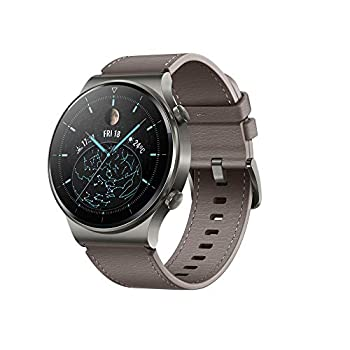 HUAWEI Watch GT 2 Pro Smart Watch 1.39 inch AMOLED Touchscreen SmartWatch 14 Days Battery Life Heart Rate Tracker Blood Oxygen Monitor GPS Waterproof Bluetooth Calls for Android Nebula Gray