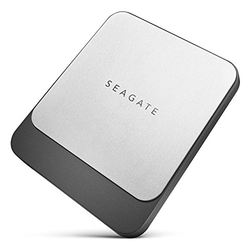 Seagate Fast SSD 1TB External Solid State Drive Portable - USB-C USB 3.0 for PC Laptop and Mac, 2 Months Adobe CC Photography (STCM1000400)