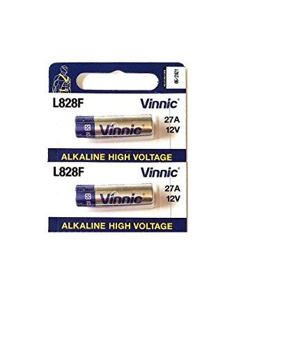 Pile 27A vinnic Haute Voltage 2 pièces 12v