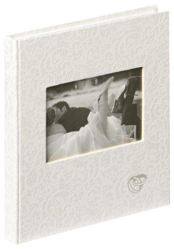 Walther Design GB-107 Music Libro per Ceremonia nuziale, 144 pagine bianche, 23 x 25 cm