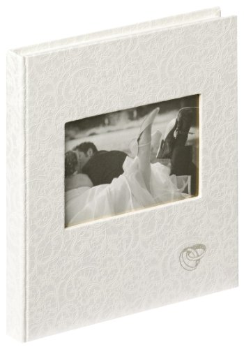 Walther Design GB-107 Music Libro para ceremonia de bodas, 144 páginas en blanco, 23 x 25 cm