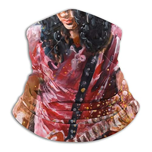 Guitarrista cómodas bandas elásticas ajustables para hombres y mujeres decoración de la cara, neutral y reutilizable elegante funda lavable