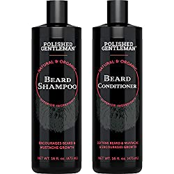 Polished Gentleman's beard shampoos and conditioners