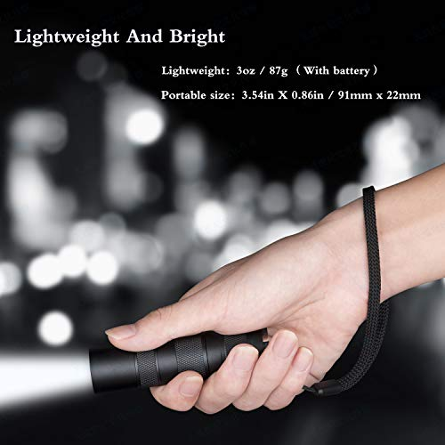 Military flashlights Tactical recharchable Brightest Portable Light 18650 18350 EDC Flashlight high lumens Rechargeable wissblue Magnetic Base 1000 Lumen Flashlight