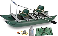 Best Inflatable Fishing Boats - Sea Eagle Green 375fc Inflatable FoldCat Fishing Boat