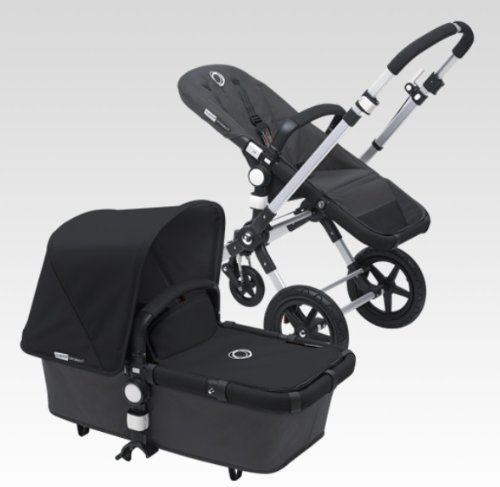 Bugaboo Cameleon 3 Stroller With New Extendable Sun Canopy (Black)