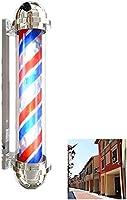 Xkun Hafleriランプヘアサロンサロン美容院店ポーチ開いた看板回転照明赤ホワイトブルーLEDストリップ