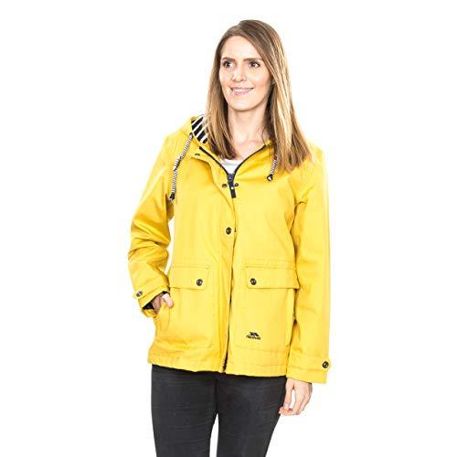 Chubasquero mujer en amarillo dorado