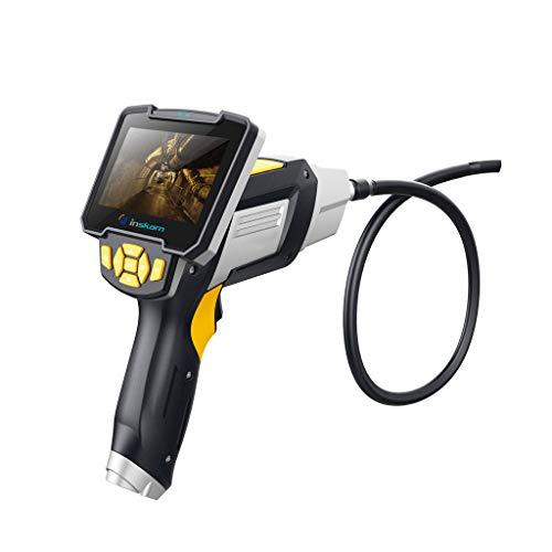 WiFi Endoskop Endoskopkamera Inspektionskamera-Endoskop Full HD Endoskop kamera,4,5 Zoll 1080P IPS LCD Digitale Hand Industrie Endoskop,7.6mm Durchmesser Sonde 2600mAh Wasserdicht Inspektionskamera