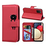 Norn Samsung Galaxy M30s/M21 leather Wallet Case,cute