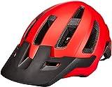 BELL Nomad MIPS Casco para Bicicleta de montaña, Hombre, Rojo Mate y Negro, Talla única