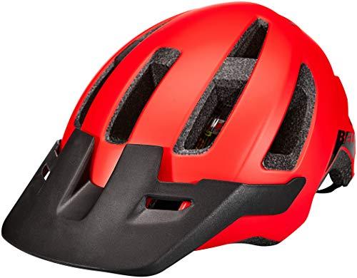 Bell Herren Nomad Mips Fahrradhelm MTB, matte red/black, Einheitsgröße