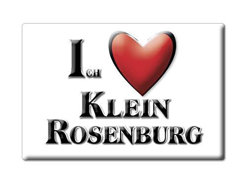 Enjoymagnets KLEIN ROSENBURG (ST) Souvenir Deutschland Sachsen Anhalt Fridge Magnet KÜHLSCHRANK Magnet ICH Liebe I Love