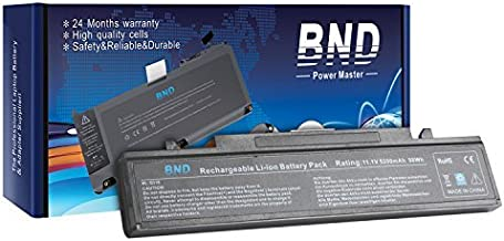 BND Laptop Battery Compatible with R480 R530 R540 R580 R730, fits P/N AA-PB9NC6B PB9NS6B AA-PB9NC6W AA-PB9NC5B AA-PL9NC2B AA-PL9NC6W AA-PB9NC6W/E [6-Cell 5200mAh/58Wh]