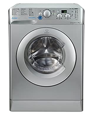 Indesit Innex BWD 71453 S UK Washing Machine - Silver