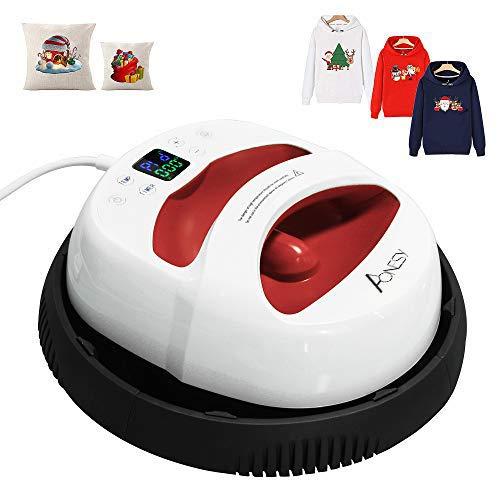Pressa per stampa a caldo Pressa per maglietta Easy Press 30X 25 cm Vivavoce Pressa a caldo