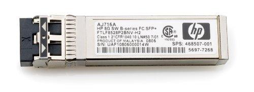 Preisvergleich Produktbild HP Optical Transceiver 8Gbit Short Wave FC SFP+ for 8Gbit B-Series SAN Switch Family