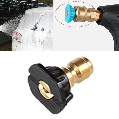 NoNoNo Jet Wash Hogedrukreiniger spray sproeikoppen autowasmachine metaal Jet Lance snelsproeikoppunten 1/4