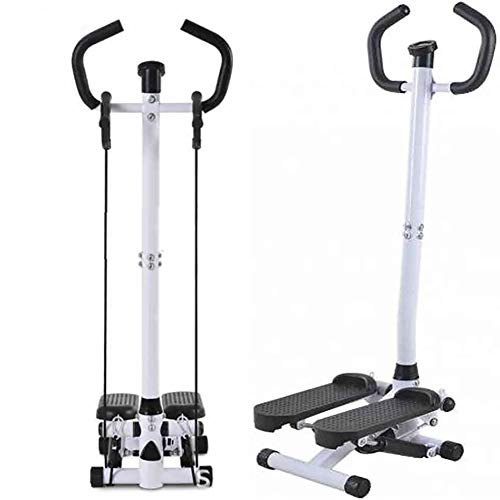 Amazing Deal ZZYYZZ Adjustable Twist Stepper with Handlebar Drawstring, Healthy and Fitness Mini Stepper Exercise Equipment for Home Gym Use