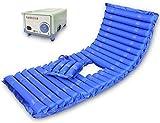 DW mat Anti-decúbito colchón de Aire médica con Ajustable Cojín de enfermería Compresor Hogar for Ancianos Paralizado Paciente Inflable de alternancia de presión Estera cojín del colchón (Size : C)