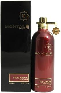MONTALE Red Aoud Cologne for Men Eau De Parfum, 3.3 Fl Oz