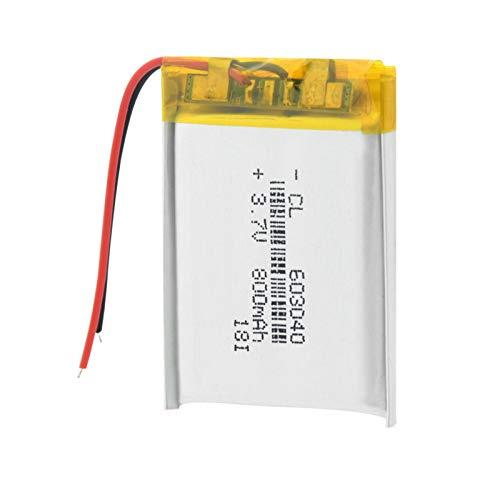 softpoint Batería De PolíMero De Iones De Litio De 3.7v 800mah 603040, BateríAs Recargables con Protección PCB 1piece