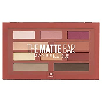 Maybelline New York The Matte Bar Eyeshadow Palette 300 THE MATTE BAR 1 Count