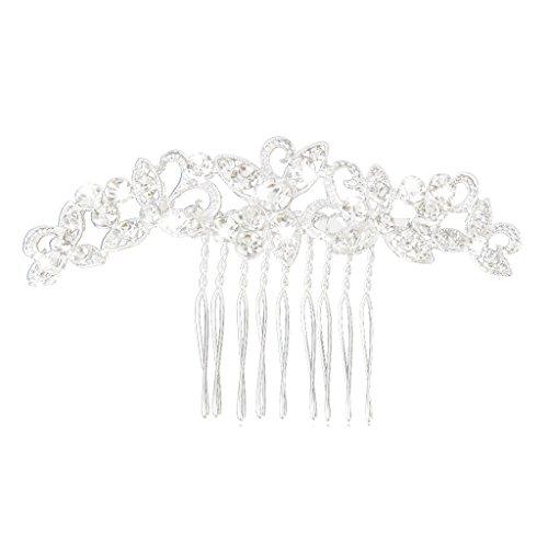Bridal Wedding Rhinestone Hair Comb by Generic