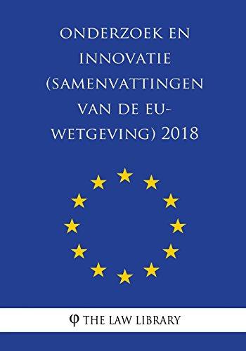Onderzoek en innovatie (Samenvattingen van de EU-wetgeving) 2018